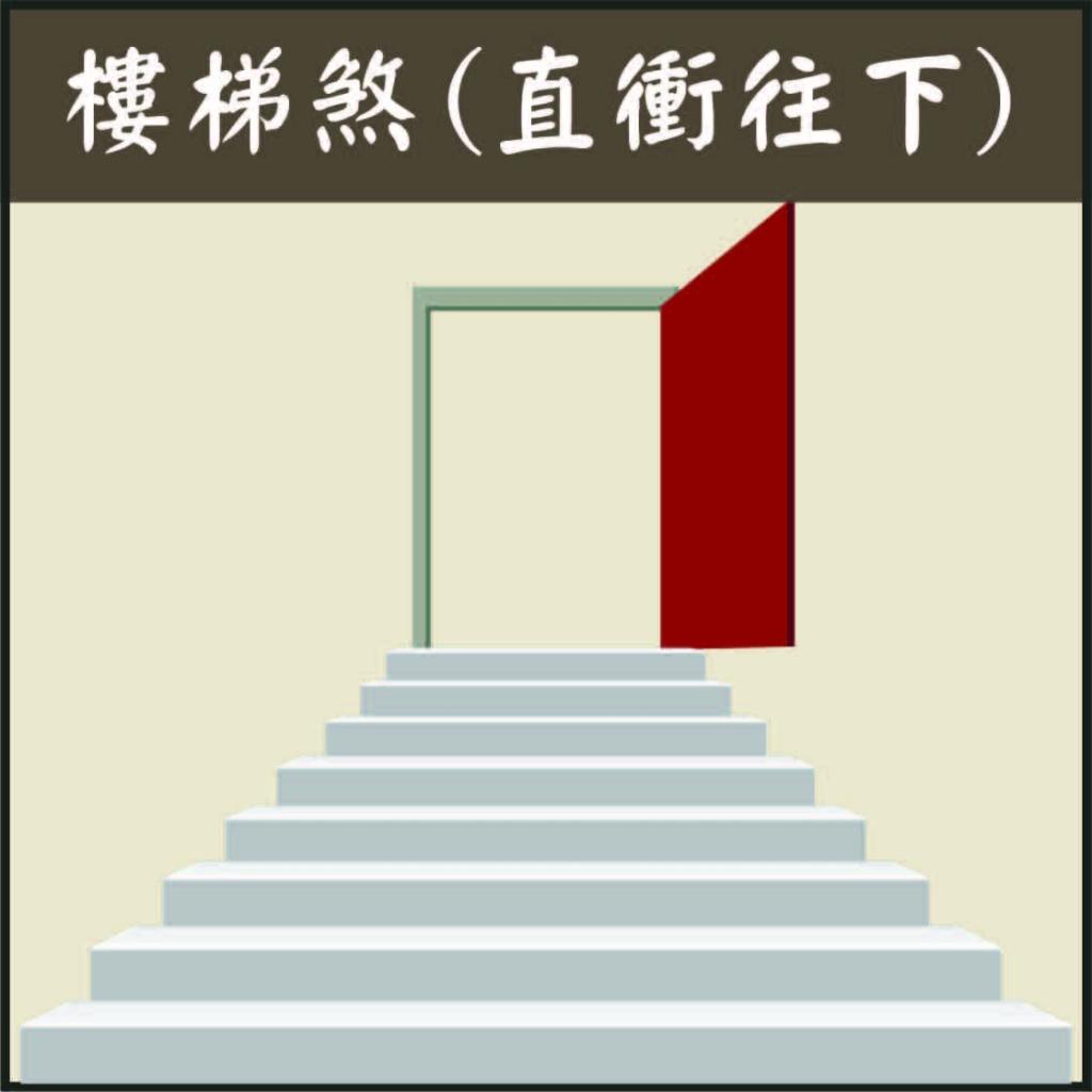 樓梯煞氣,開門見樓梯側面,刀梯煞化解,透天樓梯風水,樓梯居中化解,大門左邊樓梯向下,出門樓梯向下,大門正對往上樓梯,階梯 煞